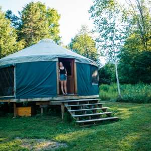 Magical Vermont Yurt