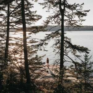 Oceanfront Island Campsites