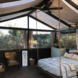 Rocky Canyon Ranch Glamping Tent