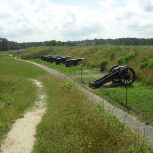 Yorktown Battlefield Part of Colonial National Historical Park