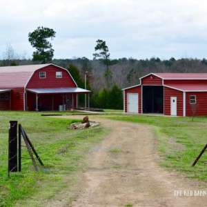 Red Barn country cabin