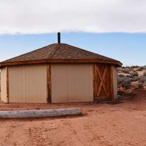 Antelope Canyon Navajo Hogan