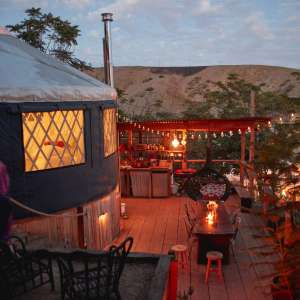 Skyfarm Yurt