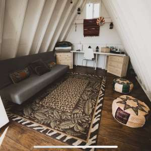 Hudsons Tiny Glamping Shed