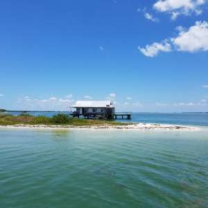 Barrier island retreat