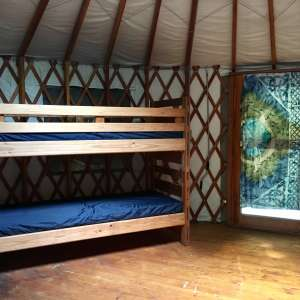Sleep in a Yurt