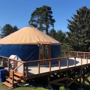 The Otter Rock Surf Yurt