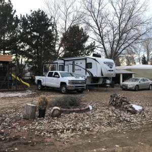 Boulder CO area RV site
