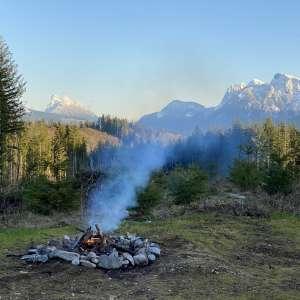 Sky Valley campsite