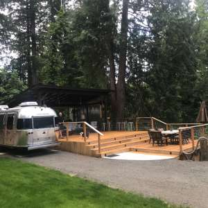 Waterfront RV/Camping Deck