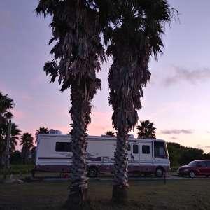 Louisiana private campsite