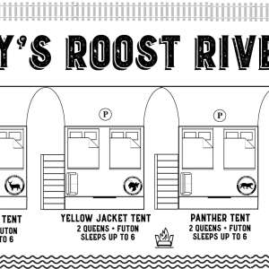 Rusty's Roost River Glamping