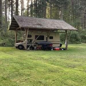 Lone Creek camp
