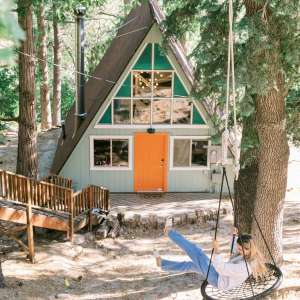 The Juniper Hideout A-Frame