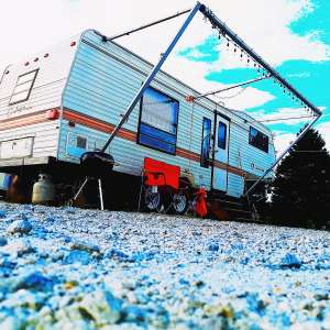 Blue Dreams Camper