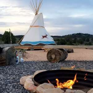 TIPI Site Near Bryce Canyon