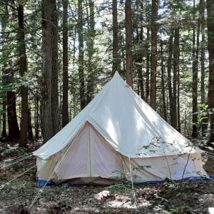 Maine Secluded Yurt-Tent.