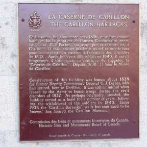 Carillon Barracks National Historic Site