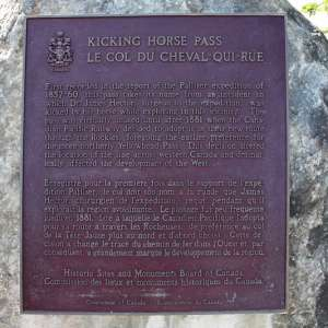 Kicking Horse Pass National Historic Site