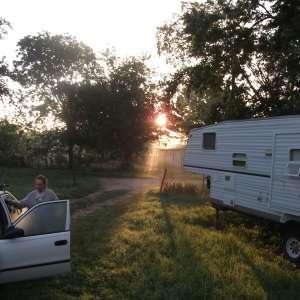 Parklike camping near Austin