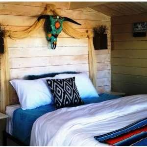 Big Bend glamping cabin