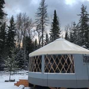 Base Camp Bigfork's Yurt