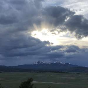 Sunsets Over the Buffalo Peaks