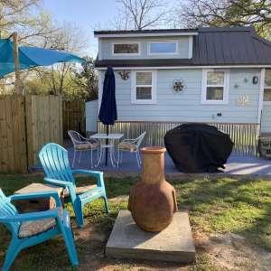 399 Sq Ft Tiny Blue House