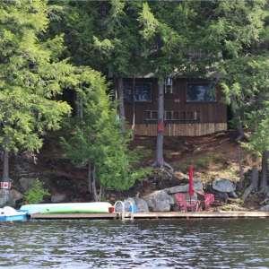 Ragged Lake Off-Grid Cabin