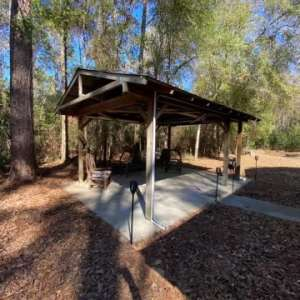 Campsite in Manatee Ranch