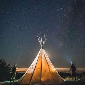 Glamping at Yellowstone Park