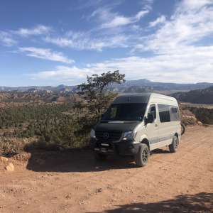 Simple life campsites at Dreamcatcher ranch