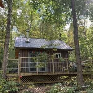 Hummingbird Hollow Tiny Eco Cabin