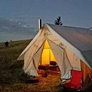 Southfork Glamping Tent
