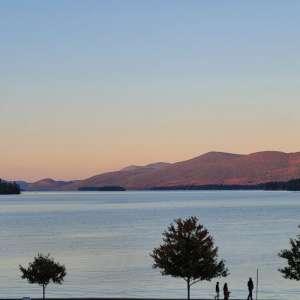 Lake George RV experience in rustic Adirondack setting
