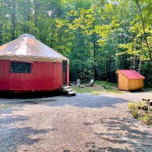 Yurt By The The Berkshires