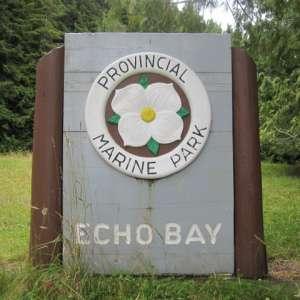 Echo Bay Marine Provincial Park