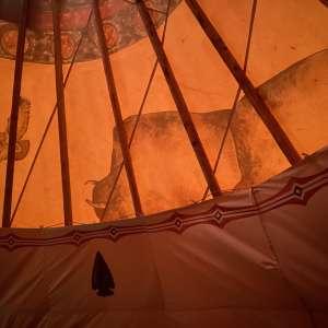 Cherokee Valley Bison Ranch Creekside Retreat