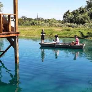 Blue Lagoon Pond & Cabin