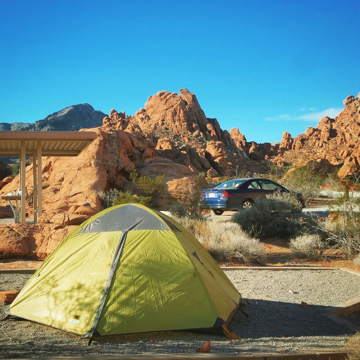 Arch Rock Campground Valley Of Fire Nv 7 Hipcamper Reviews And 20 Photos