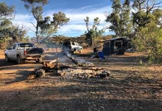 Bright - Creek Campsite,