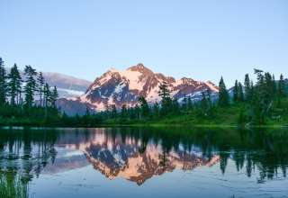 Stop by Picture Lake and catch the gorgeous reflection of Mount Shuksan in the still waters. You won't regret it!