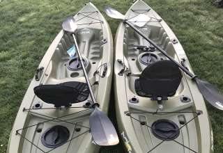 Kayak rentals available on local reservoir a mile away!