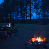 Firecamp exclusive riverside camping