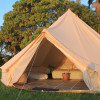 Glamping with a coast and country feel