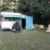 Original 1969 Caravan Set Up By Beautiful Creek