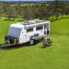 Luxury caravan at The Landing