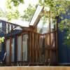 Funky Blue Loft Eco-Cabin