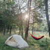 Camp at an Ozark Commune