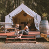 Glamping Tents on 40 acre ranch!